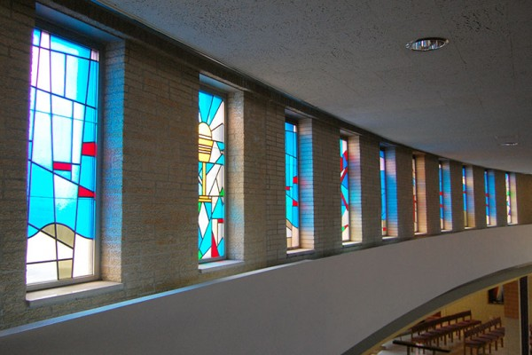 St. Andrew Church windows