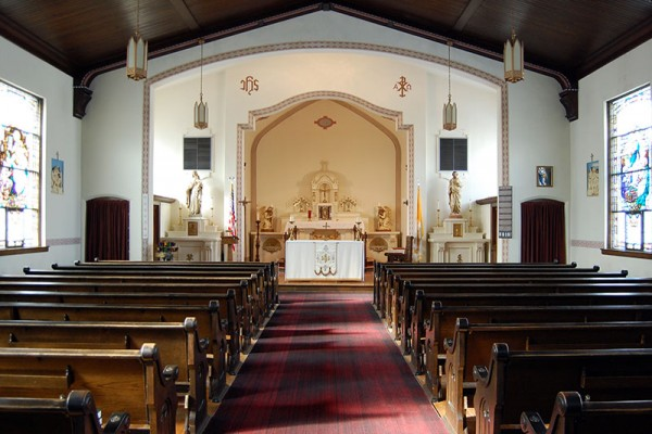 St. William Church Interior